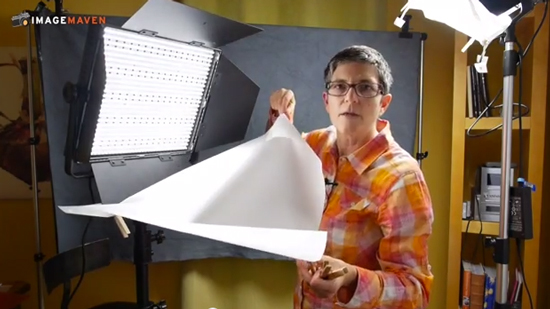 Learn how to set up LED lights for talking head videos